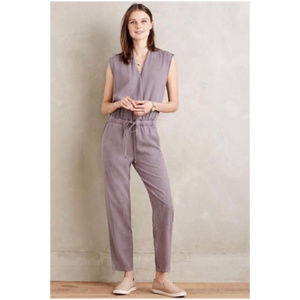 Anthropologie Mignon Jumpsuit in Lilac